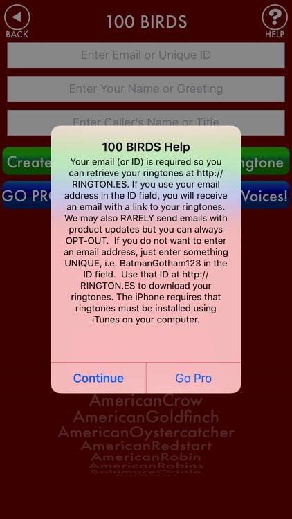 100BIRDS + RINGTONES Bird Calls Tweets Sounds screenshot-3