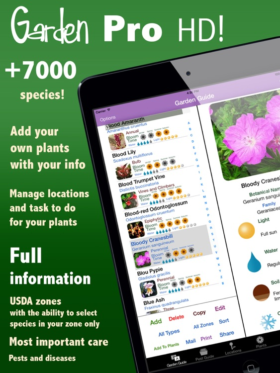 Orchids Guide HD! screenshot-4