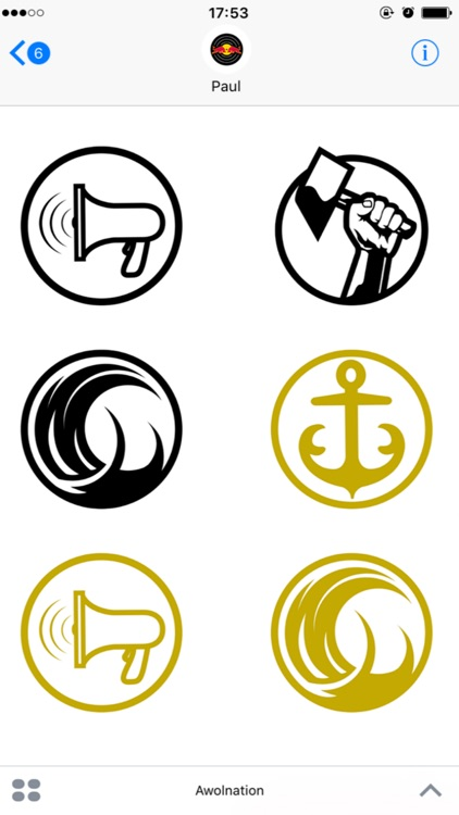 Awolnation: Sticker Pack screenshot-3