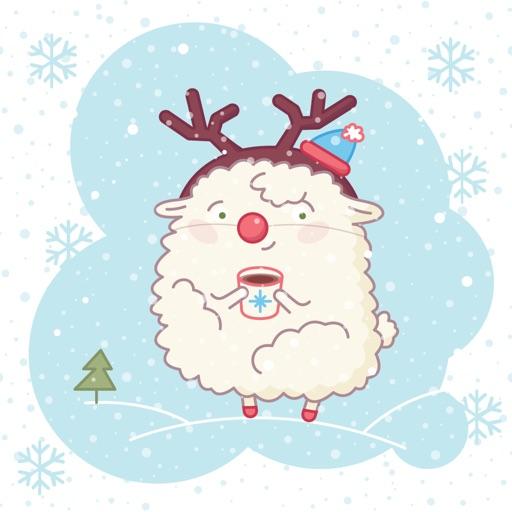 iMessage Sheep Stickers