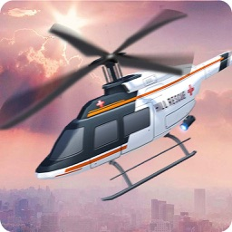 Helicopter Rescue Ambulance 3D