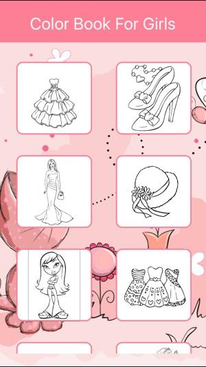 Kleurplaten Kleuren Spelletjes.Kleurplaten Voor Meisjes Kleuren Spelletjes In De App Store