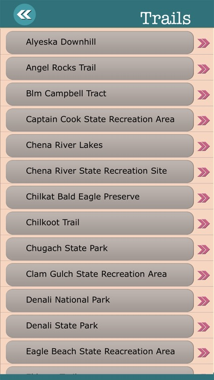 Alaska State Campgrounds & Hiking Trails screenshot-3