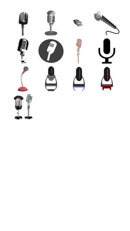 Microphone Sticker Pack!