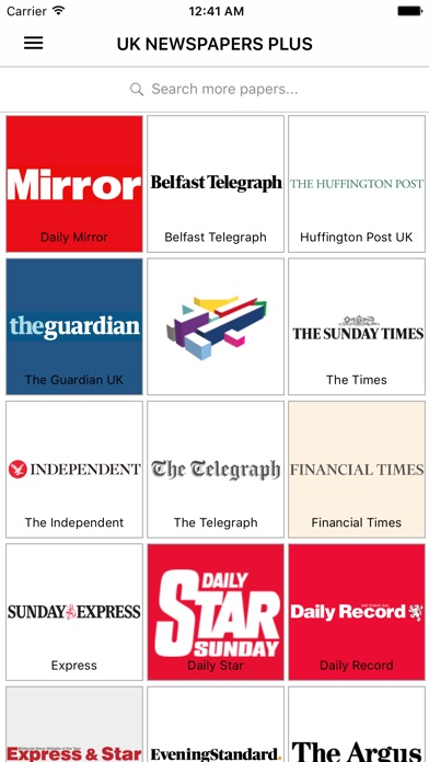 Uk Newspapers Plus - Daily News From The UK-0