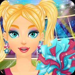 Cheerleader Makeover: Makeup & Dress Up Girl Games