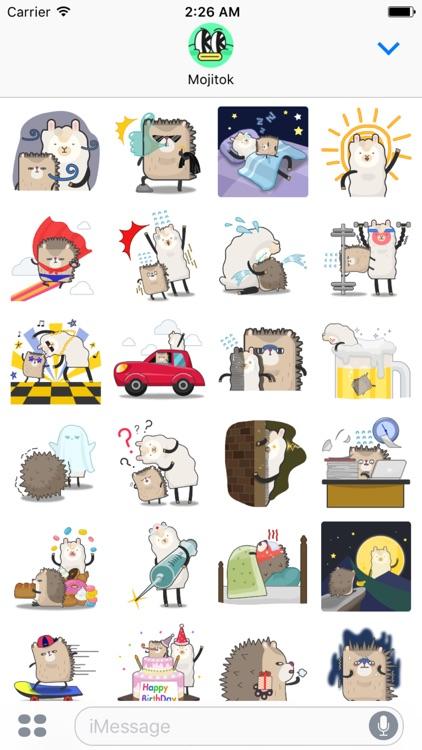 Dochi Dochi & Ramama Stickers