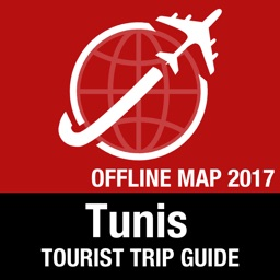 Tunis Tourist Guide + Offline Map