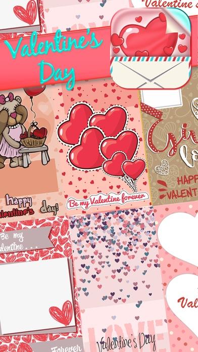 Valentinstag Gruß Karten Frei EinladungenScreenshot von 2