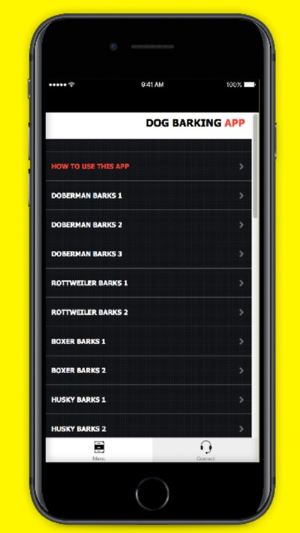 Dog Barking App screenshot-1