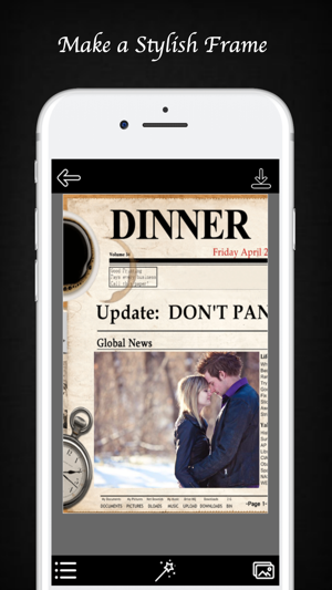 NewsPaper Photo Frame - Epic Picture Frames on the App Store