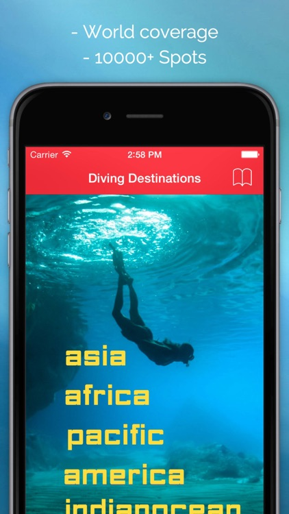 DIVE: Diving hot spots-Best Dive Sites in the Word