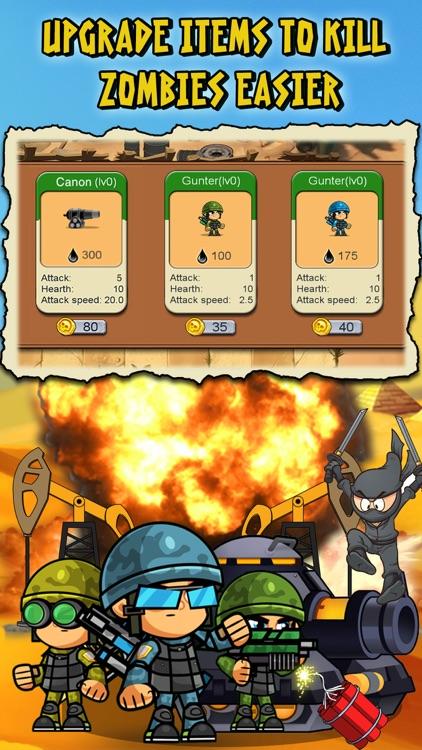 Ninja vs Zombies War in Desert screenshot-3