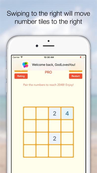 Screenshot #8 for 2048 Tile Pairing Challenge - Professional Version