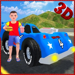 Kids Toy Car Simulator Game 3D