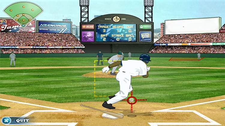 Real 3D Baseball - Superstar Traning Simulation screenshot-3
