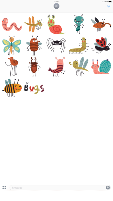 Bugs! Stickers