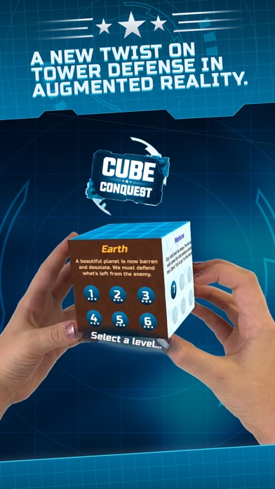 Cube Conquest for MERGE Cube screenshot one