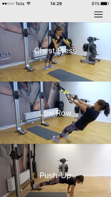 Suspension Exercises Center Workout Trx Training screenshot-3