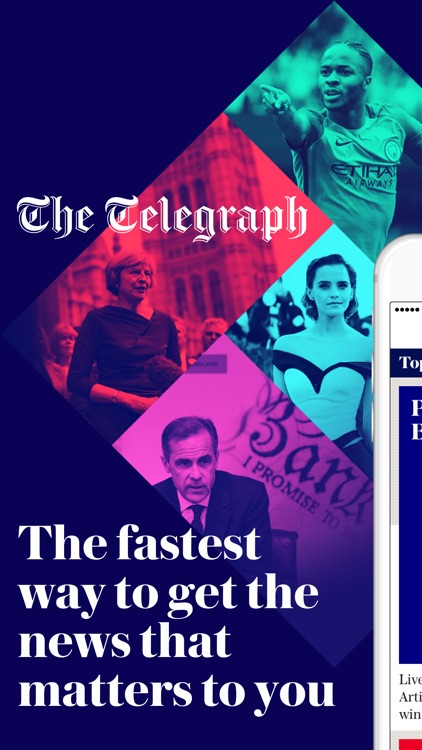 The Telegraph – Live News, Sport & Business screenshot-0