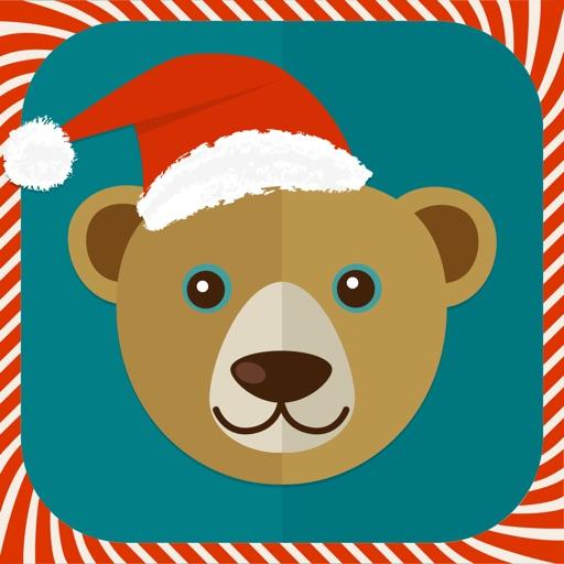 Christmas wallpaper, fun photo frames & Santa hat