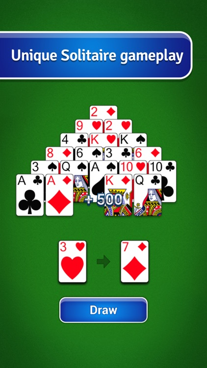 Pyramid Solitaire - Classic Card Game screenshot-4