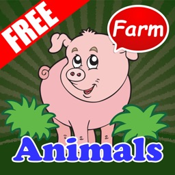 Funny Farm Animals with Phonics for Kids