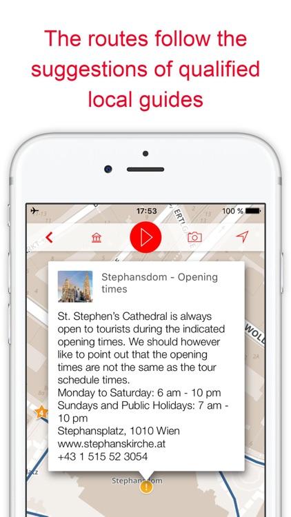 Vienna - audio tours of Austria capital (offline) screenshot-4