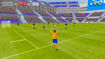 サッカー2017ゲーム - リアルフットボールストライカーゴールHDのスクリーンショット2
