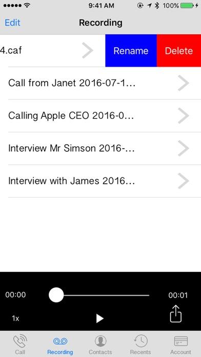 Automatic Call Recorder Screenshot 3