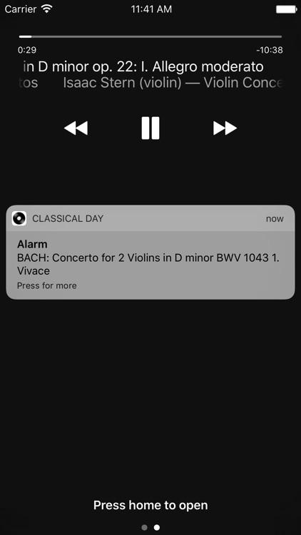 Classical Day - Alarm, Ringtones, Loseless screenshot-4