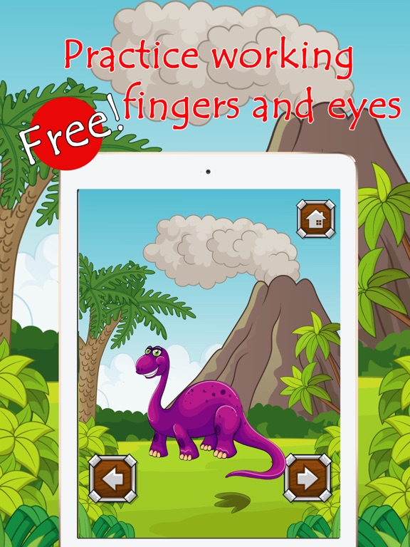 Dinosaur Coloring Book Paint Games For Kids Free | App Price Drops