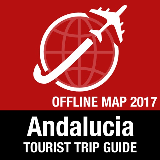 Andalucia Tourist Guide + Offline Map
