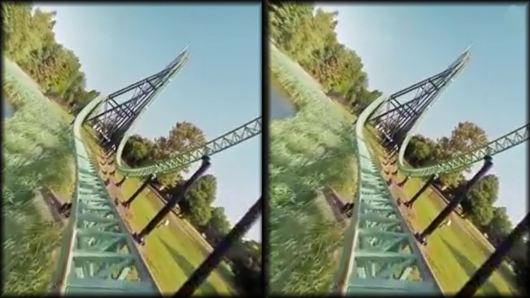 VR Thrills: Roller Coaster 360 (Google Cardboard) screenshot-4