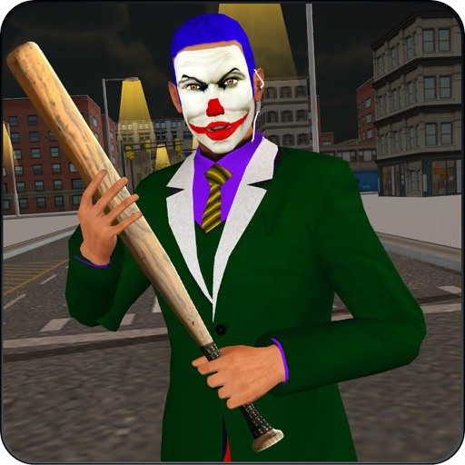 Crazy Clown Real Gangster Jail Break: City Attack