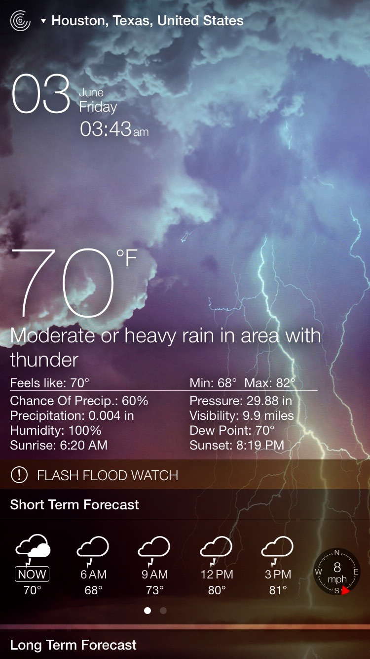 Weather Live - Weather Forecast, Radar, and Alerts