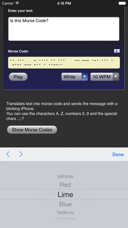 Morse Code screenshot-2