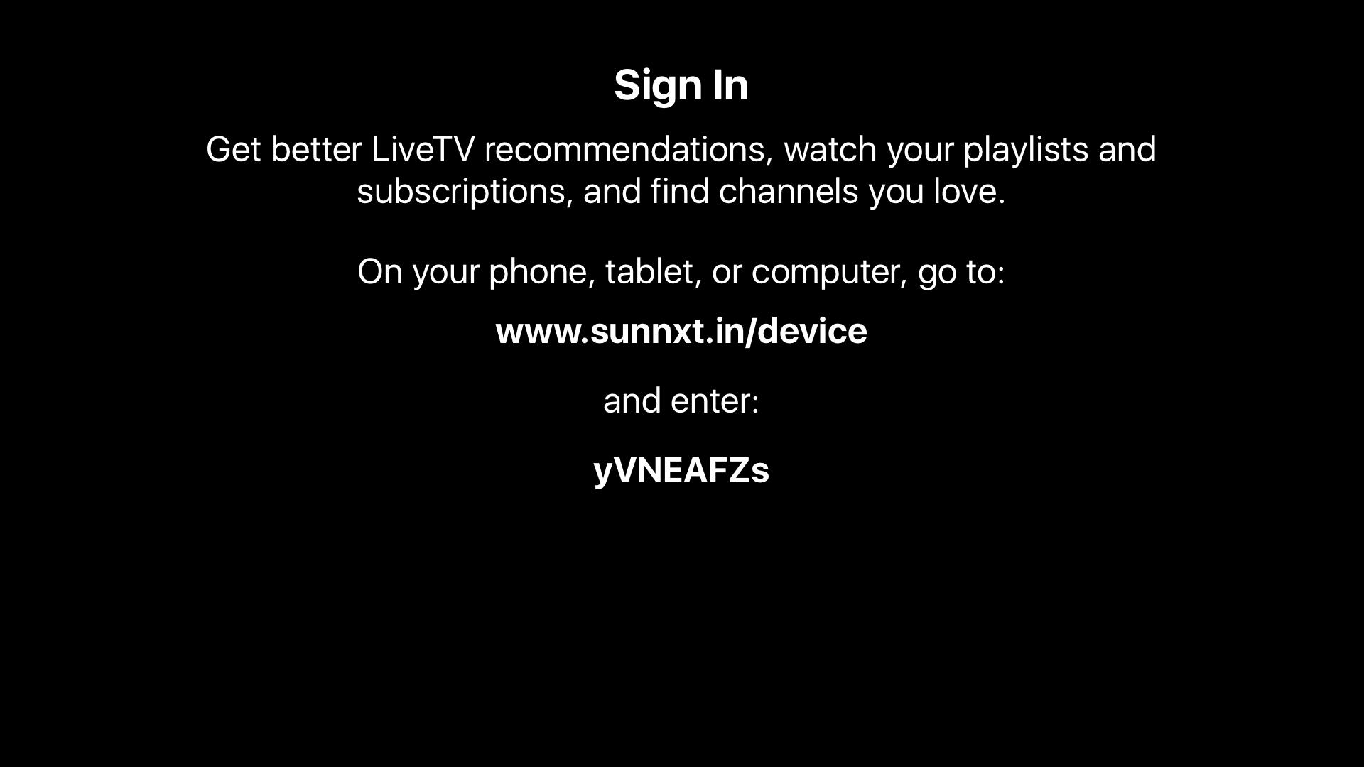 Sun NXT | Apps | 148Apps