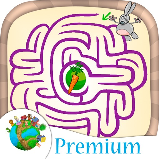 Mazes for kids and fun labyrinth brain games - Pro