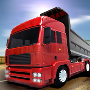 重型运输货物的卡车司机模拟器 3D