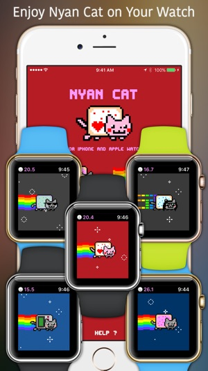 Nyan Cat Watch Phone Edition On The App Store