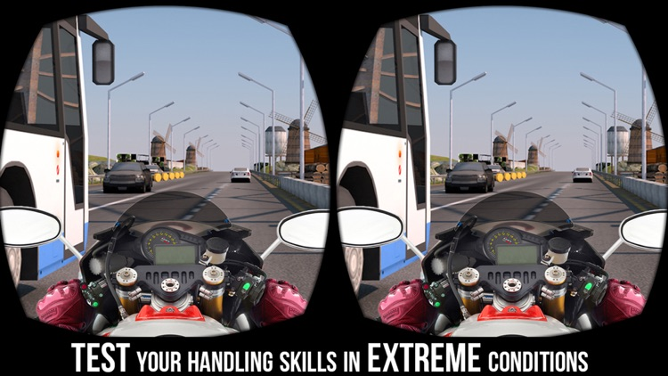 VR Crazy Bike Traffic Race - Top Racing Game Free screenshot-4