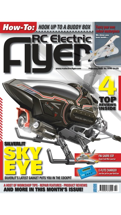 RC Electric Flyer - The Leading Radio Control Electric Aircraft Magazine screenshot-3