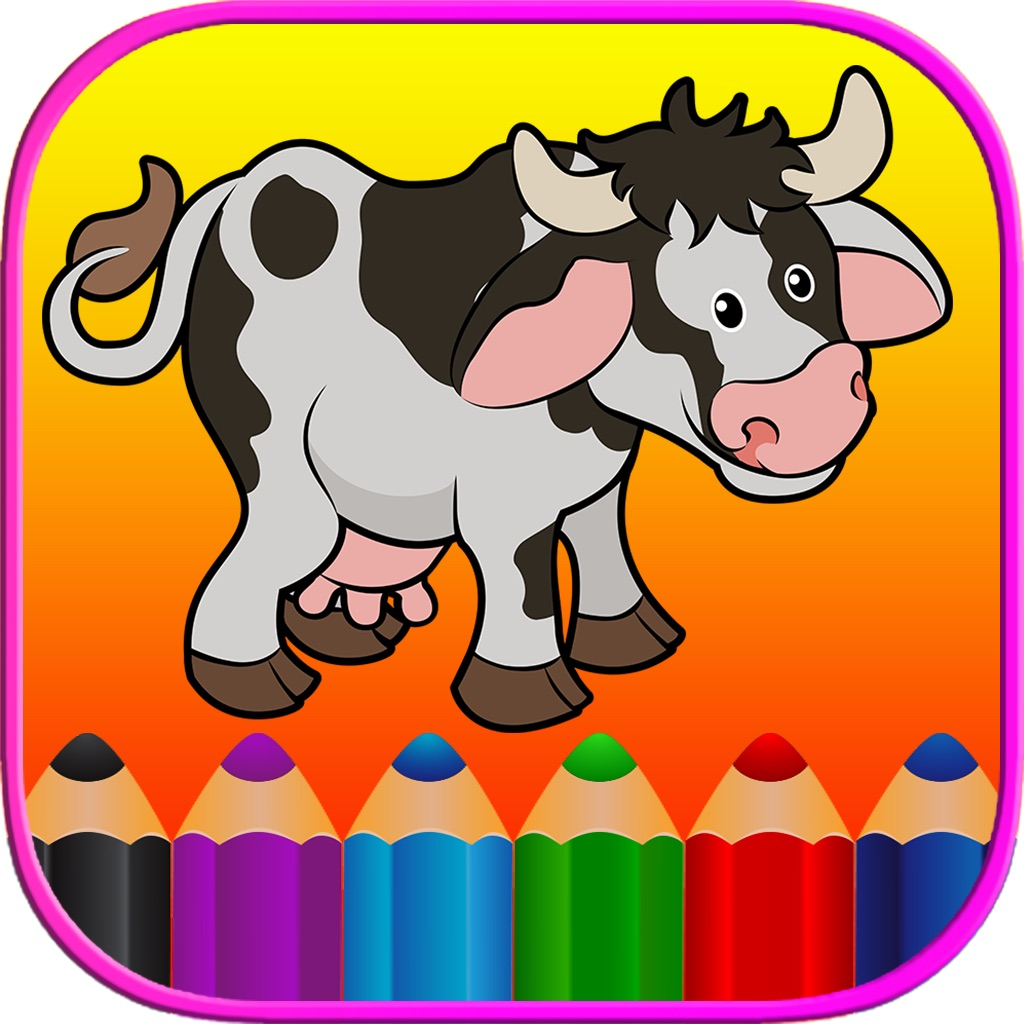 Animals Coloring Book HD - First Grade Word Games hack