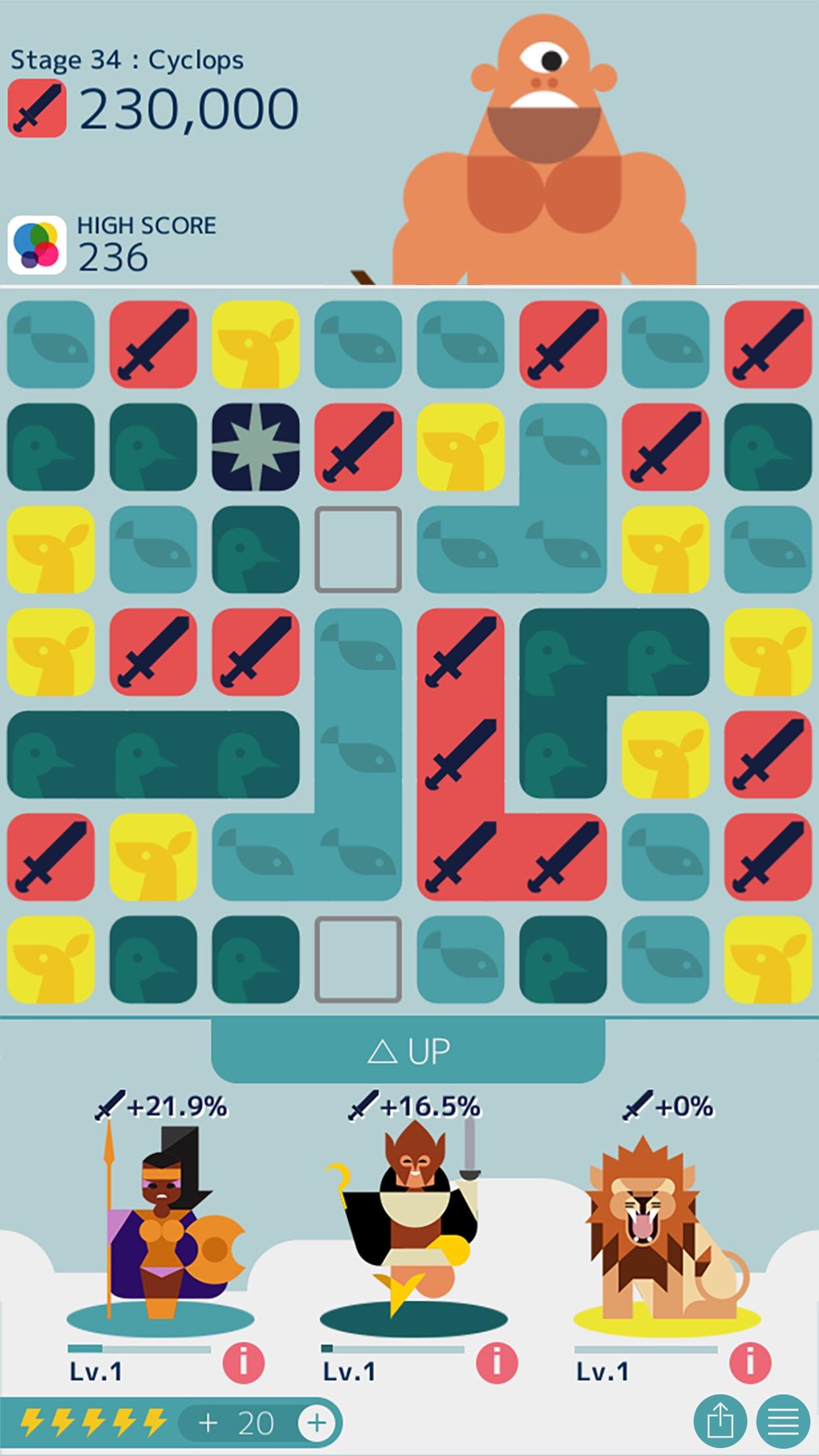 Screenshot do app MUJO