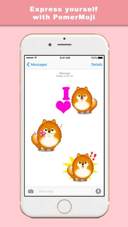 PomerMoji - Stickers & Keyboard for Pomeranians screenshot-3