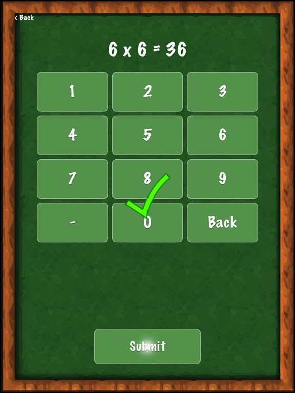 Math Practice - Integers Screenshot 1