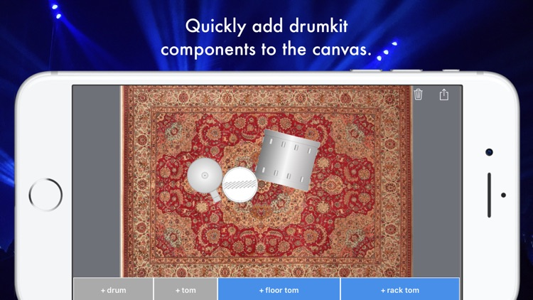 Drumfigurator: Drumkit and Percussion Builder