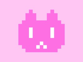Glitch out your conversation with cute animated pixel cats