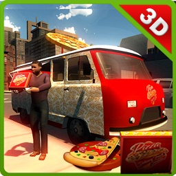 Pizza Delivery Truck & Mini Food Van Simulator